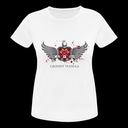 CrossFit Tuusula - naisten tekninen t-paita