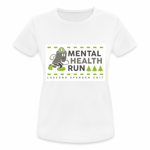 mental health run 2017 - Frauen T-Shirt atmungsaktiv