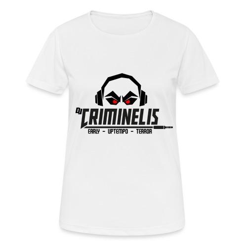 criminelis - Vrouwen T-shirt ademend actief