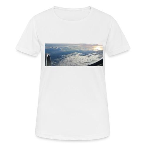 Flugzeug Himmel Wolken Australien - 2. Motiv - Frauen T-Shirt atmungsaktiv