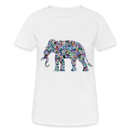 Elephant - Women's Breathable T-Shirt