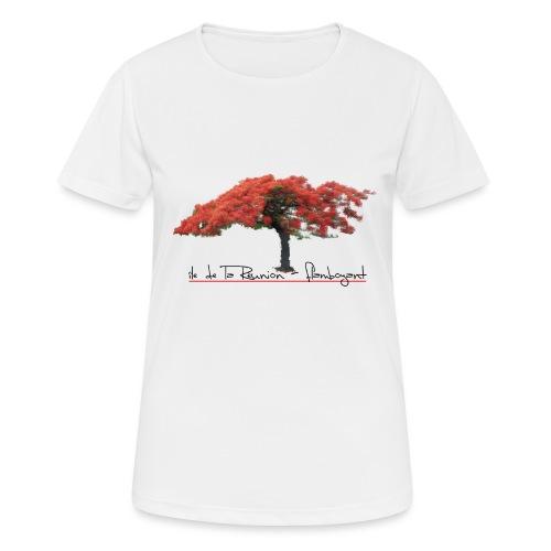 Flamboyant - T-shirt respirant Femme