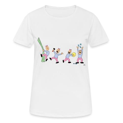 toern babybody - Pustende T-skjorte for kvinner