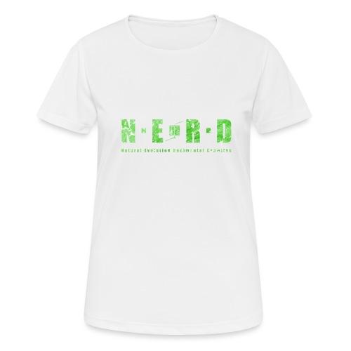 NERD Green - Dame T-shirt svedtransporterende