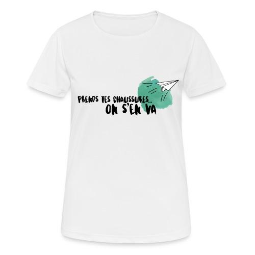 test - T-shirt respirant Femme