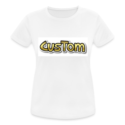 CusTom GOLD LIMETED EDITION - Vrouwen T-shirt ademend actief