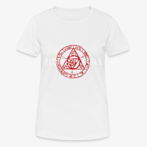 Eldritch Sigils - naisten tekninen t-paita
