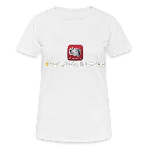 WeLoveSchlager 1 - Frauen T-Shirt atmungsaktiv