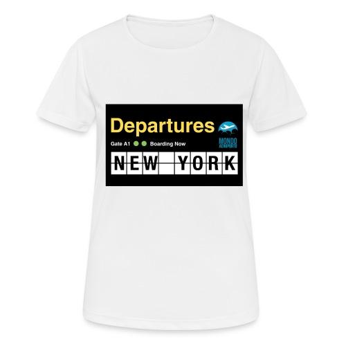 Departures Defnobarre 1 png - Maglietta da donna traspirante