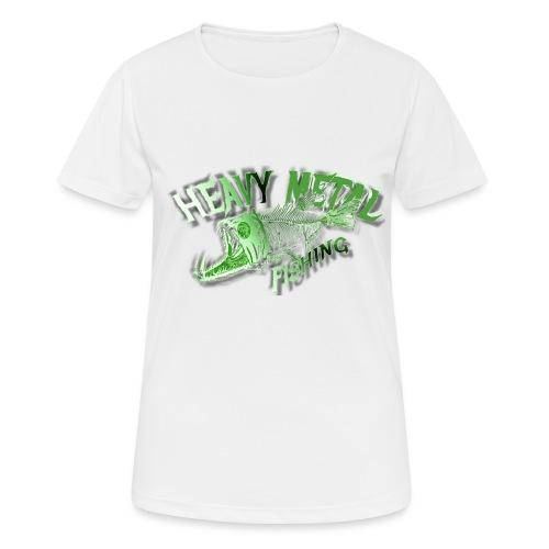 heavy metal alien - Frauen T-Shirt atmungsaktiv
