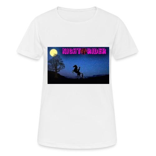 nightrider merch - Dame T-shirt svedtransporterende