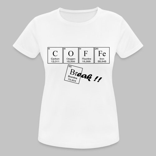 Coffee Break - Women's Breathable T-Shirt