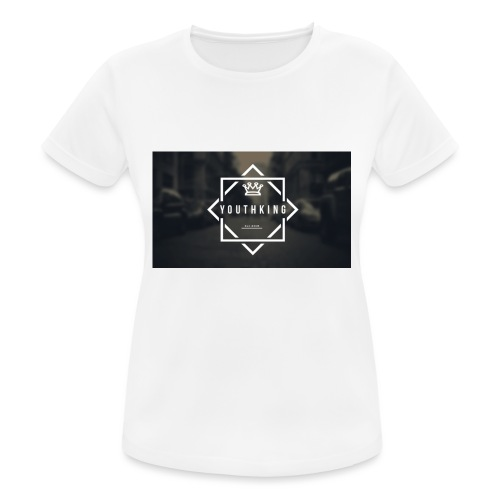 Youth King logo - Women's Breathable T-Shirt