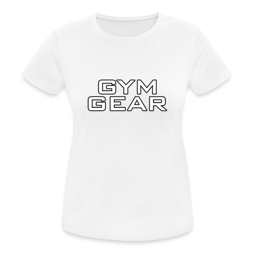 Gym GeaR - Women's Breathable T-Shirt