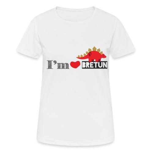 bretun negro - Camiseta mujer transpirable