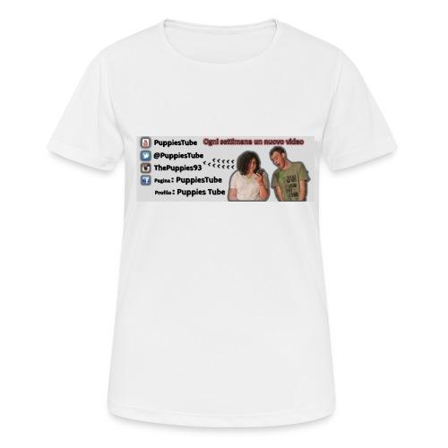 cover 5/5S Puppiestube - Maglietta da donna traspirante