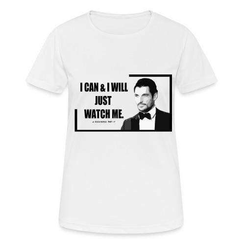 I can i will just watch me - Maglietta da donna traspirante