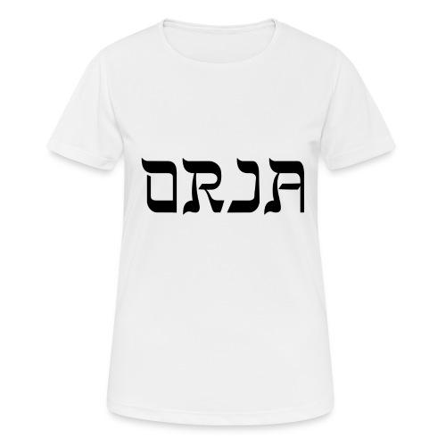 ORJA - naisten tekninen t-paita