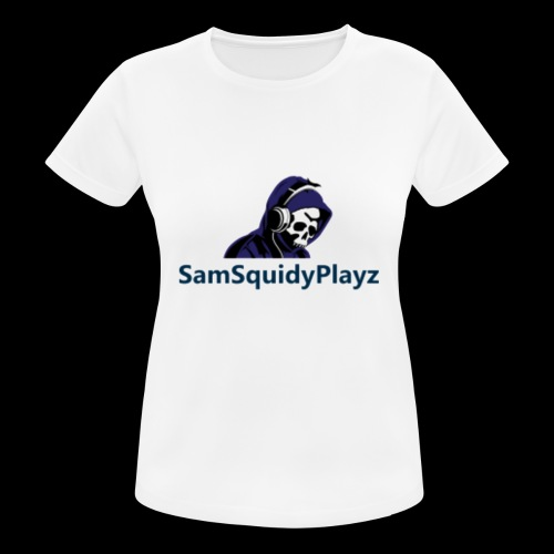SamSquidyplayz skeleton - Women's Breathable T-Shirt
