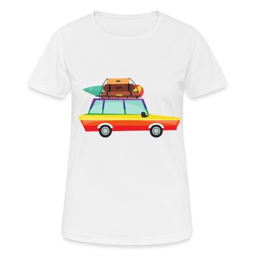 Gay Van   LGBT   Pride - Frauen T-Shirt atmungsaktiv
