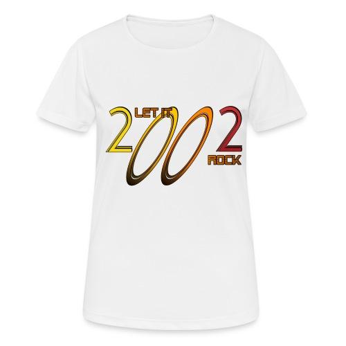 Let it Rock 2002 - Frauen T-Shirt atmungsaktiv