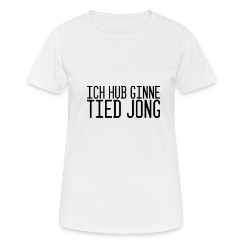 Ginne tied - Vrouwen T-shirt ademend actief
