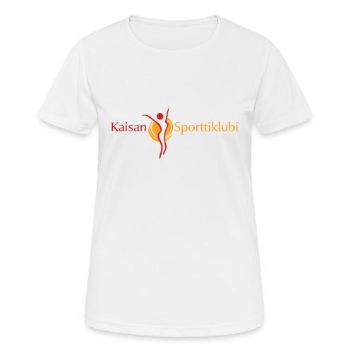 Kaisan Sporttiklubi logo - naisten tekninen t-paita