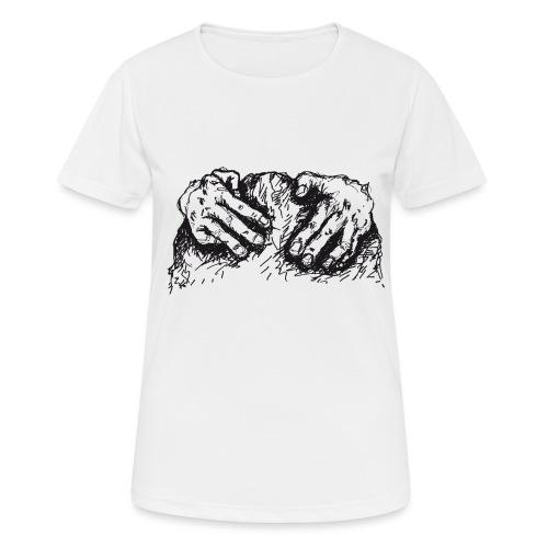 Kletterhände - Frauen T-Shirt atmungsaktiv