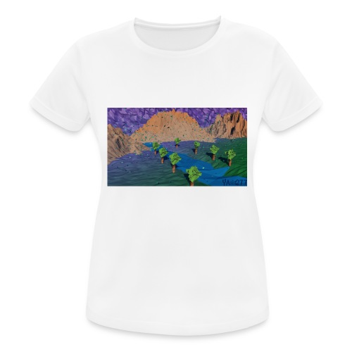Silent river - Women's Breathable T-Shirt