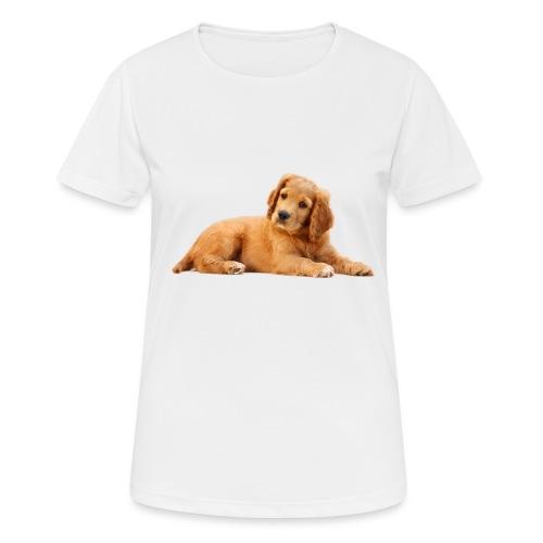 schoenenstelend blafbeest - Vrouwen T-shirt ademend actief