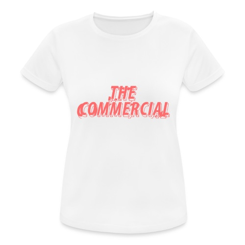 The Commercial Design #1 (Salmon - Women's Breathable T-Shirt