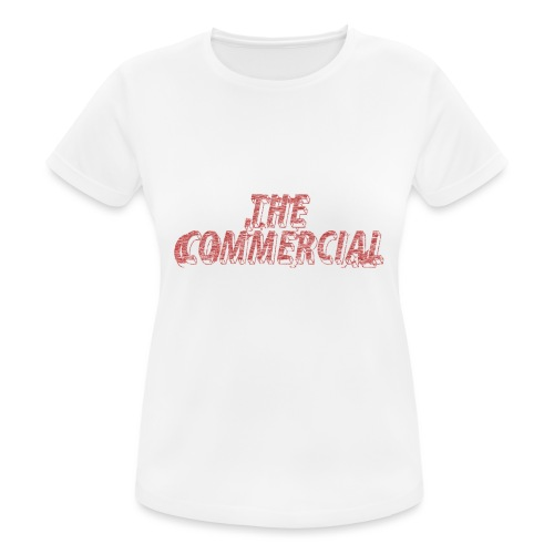 The Commercial #2 (Salmon Long Strokes) - Women's Breathable T-Shirt