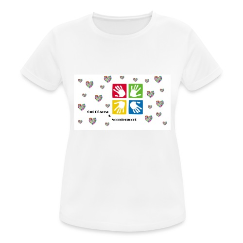 Bestsellers Out Of Area - vrouwen T-shirt ademend
