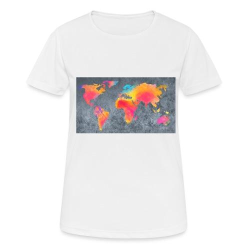World 3 - Frauen T-Shirt atmungsaktiv
