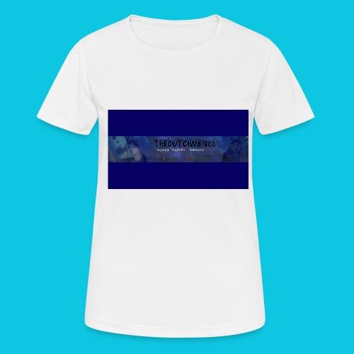 buismat bleu - vrouwen T-shirt ademend