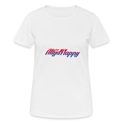 T-shirt AltijdFlappy - vrouwen T-shirt ademend