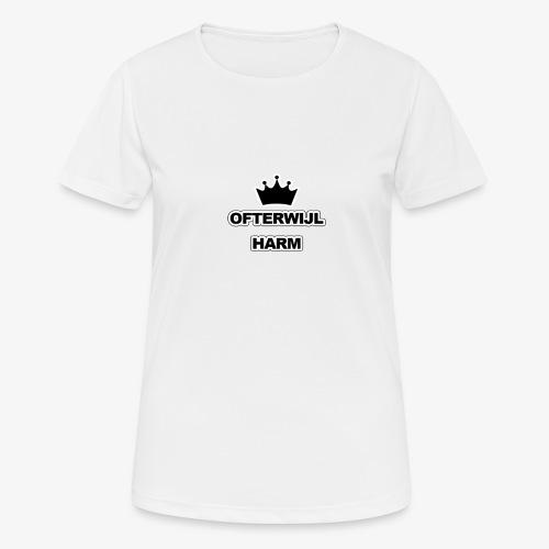 logo png - Vrouwen T-shirt ademend actief