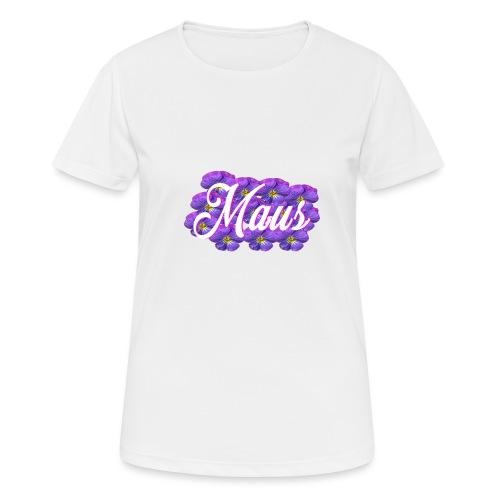 MAUS Vrouwen Opgerolde Mouwen - Vrouwen T-shirt ademend actief