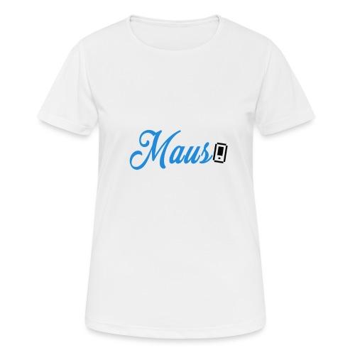 Hoesje MAUS 8Bit Blauw - Vrouwen T-shirt ademend actief