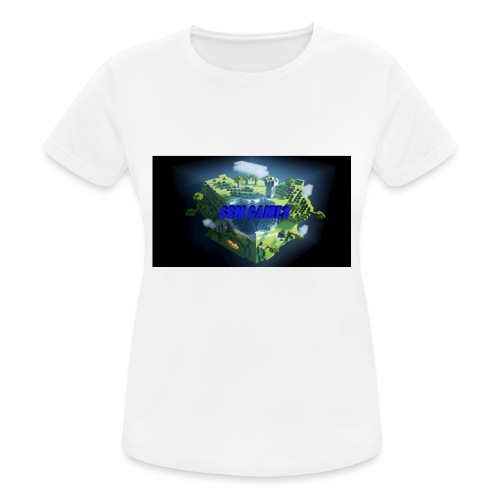 T-shirt SBM games - Vrouwen T-shirt ademend actief
