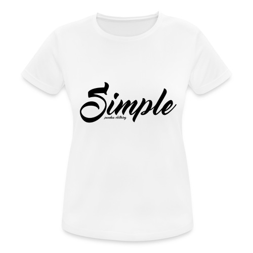 Simple: Clothing Design - Women's Breathable T-Shirt