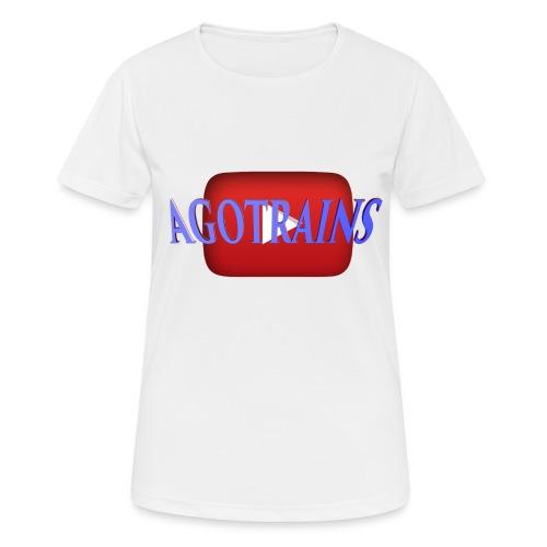 AGOTRAINS - Maglietta da donna traspirante
