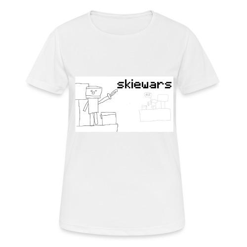 SKIEWARS - Vrouwen T-shirt ademend actief