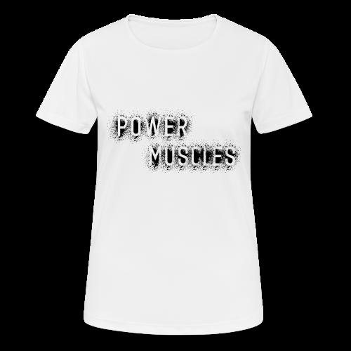 Aufschrift schwarz - Frauen T-Shirt atmungsaktiv