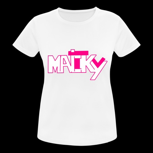 MaickyTv Pink - Frauen T-Shirt atmungsaktiv