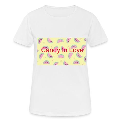 Merchandise Candy In Love - vrouwen T-shirt ademend