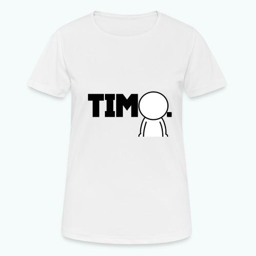 Design met ventje - vrouwen T-shirt ademend