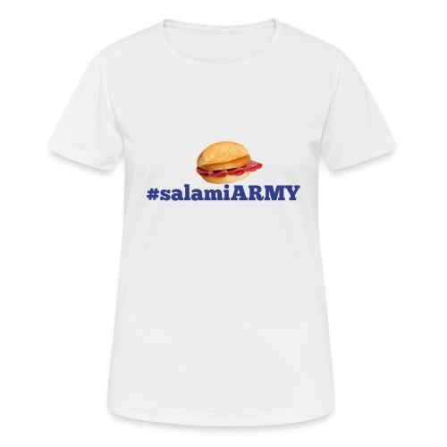 SalamiiArmy SportMerch - Frauen T-Shirt atmungsaktiv