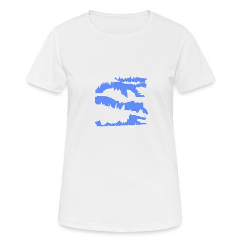 Blue_Sample.png - Frauen T-Shirt atmungsaktiv