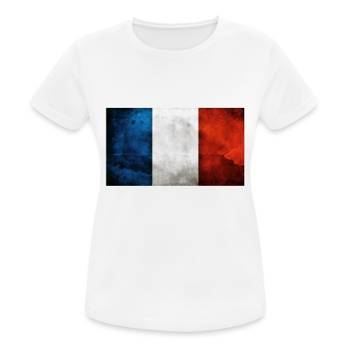 France Flag - Women's Breathable T-Shirt